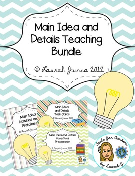 Main Idea and Details Teaching Pack