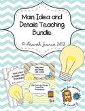 Main Idea and Details Teaching Bundle
