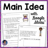 2nd Grade Morning Work: Google Slides™ Main Idea and Suppo