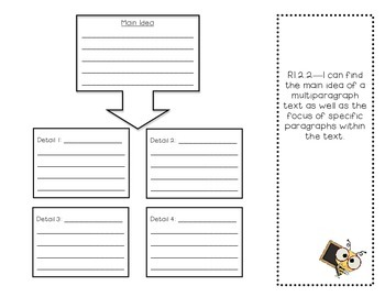 Main Idea and Details Trifold RL.2.2