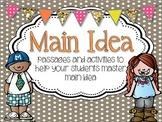 Main Idea and Details {activities and task cards}