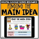 Main Idea and Details for Informational Text Digital Version | Distance Learning