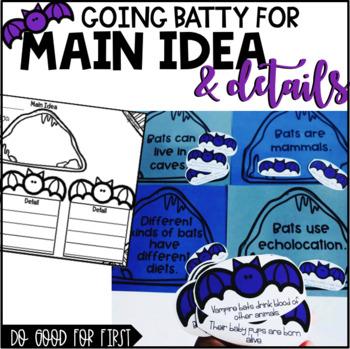 Main Idea and Details {using bats}