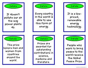 Main Idea Nonfiction Challenge