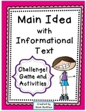 Main Idea Nonfiction Challenge