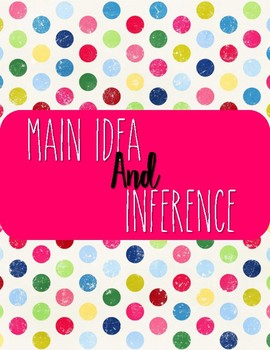 Main Idea and Inference Task Cards!