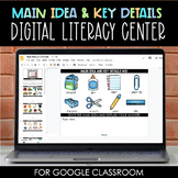 Main Idea and Key Details Activity for Google Classroom™/Slides™