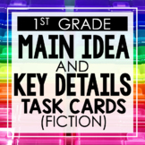 Main Idea and Key Details (Fiction) 1st Grade Reading Toot