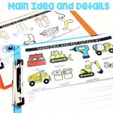 Main Idea and Key Details Mats