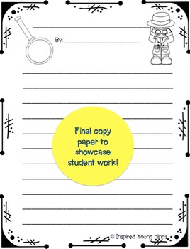 Main Idea and Key Details Poem - Retelling a Story Through a Found Poem