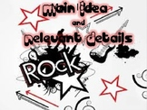Main Idea and Relevant Details Using Gradual Release