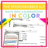 Main Idea and Summarizing in COLOR
