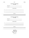 Main Idea and Summary Handout