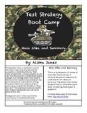 Main Idea and Summary Strategy Boot Camp