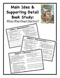 Main Idea and Supporting Detail Book Study - What Was Pear