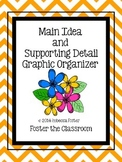 Main Idea and Supporting Detail Graphic Organizer