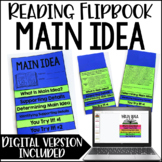 Main Idea and Supporting Details Activity |  Flipbook *Google Slides™ Included
