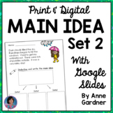 2nd Grade Morning Work Digital Main Idea & Details Passage