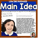 Main Idea and Supporting Details | Main Idea Passages | Graphic Organizers