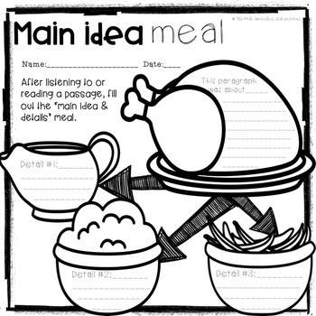 MAIN IDEA AND SUPPORTING DETAILS | MAIN IDEA PASSAGES
