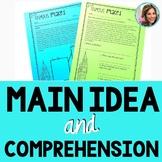 Find the Main Idea | Main Idea Passages | Main Idea Speech Therapy