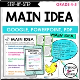 Main Idea and Supporting Details Passages - Main Idea and Details