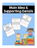 Main Idea and Supporting Details Practice