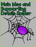 Main Idea and Supporting Details Spider