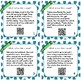 Main Idea and Supporting Details Task Cards with and without QR Codes
