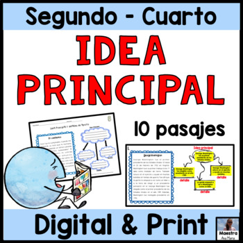 Main Idea and Supporting Details in Spanish / Idea princip