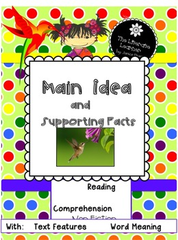 Main Idea and Supporting Facts 2nd and 3rd Grades