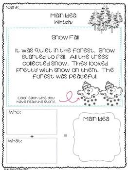 Main Idea for Beginners - Winter Edition!