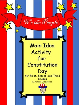 Main Idea for Constitution Day