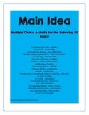 Main Idea for Picture Books