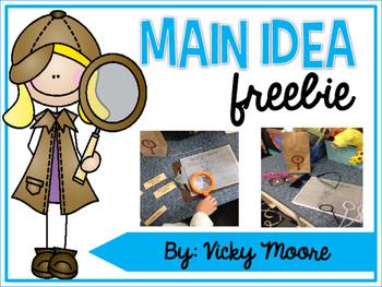 Main Idea freebie