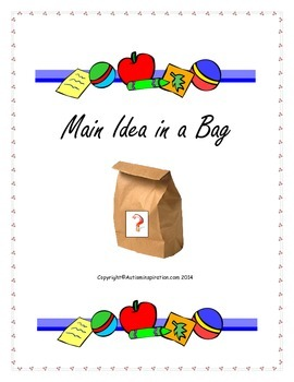Main Idea in a bag