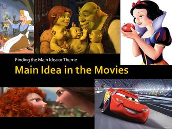 Main Idea in the Movies