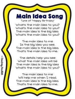 Main Idea mini-lesson pack