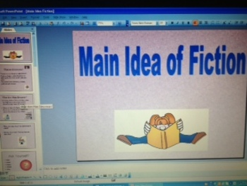 Main Idea of Fiction Texts PowerPoint CCSS