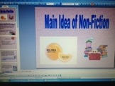 Main Idea of Non-Fiction PowerPoint - CCSS