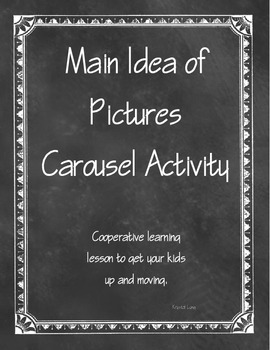 Main Idea of Pictures Carousel Activity