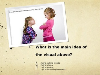 Main Idea of an Image Test Prep