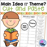 Main Idea or Theme? Cut and Paste Sorting Activity
