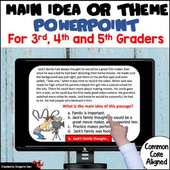 Main Idea or Theme PowerPoint