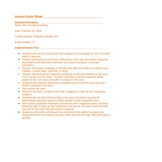 Main Idea/Supporting Details/Author's Purpose Lesson Plan