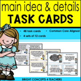 Main Idea & Details Task Cards