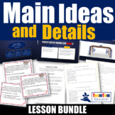 Main Ideas Lesson Bundle