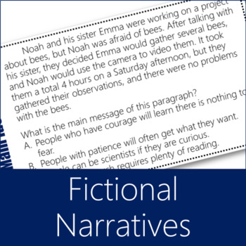 Main Ideas Task Cards 8 - Mixed Genres