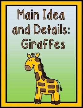 Main Ideas and Details: GIRAFFES