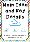 Main Ideas and Key Details Poster